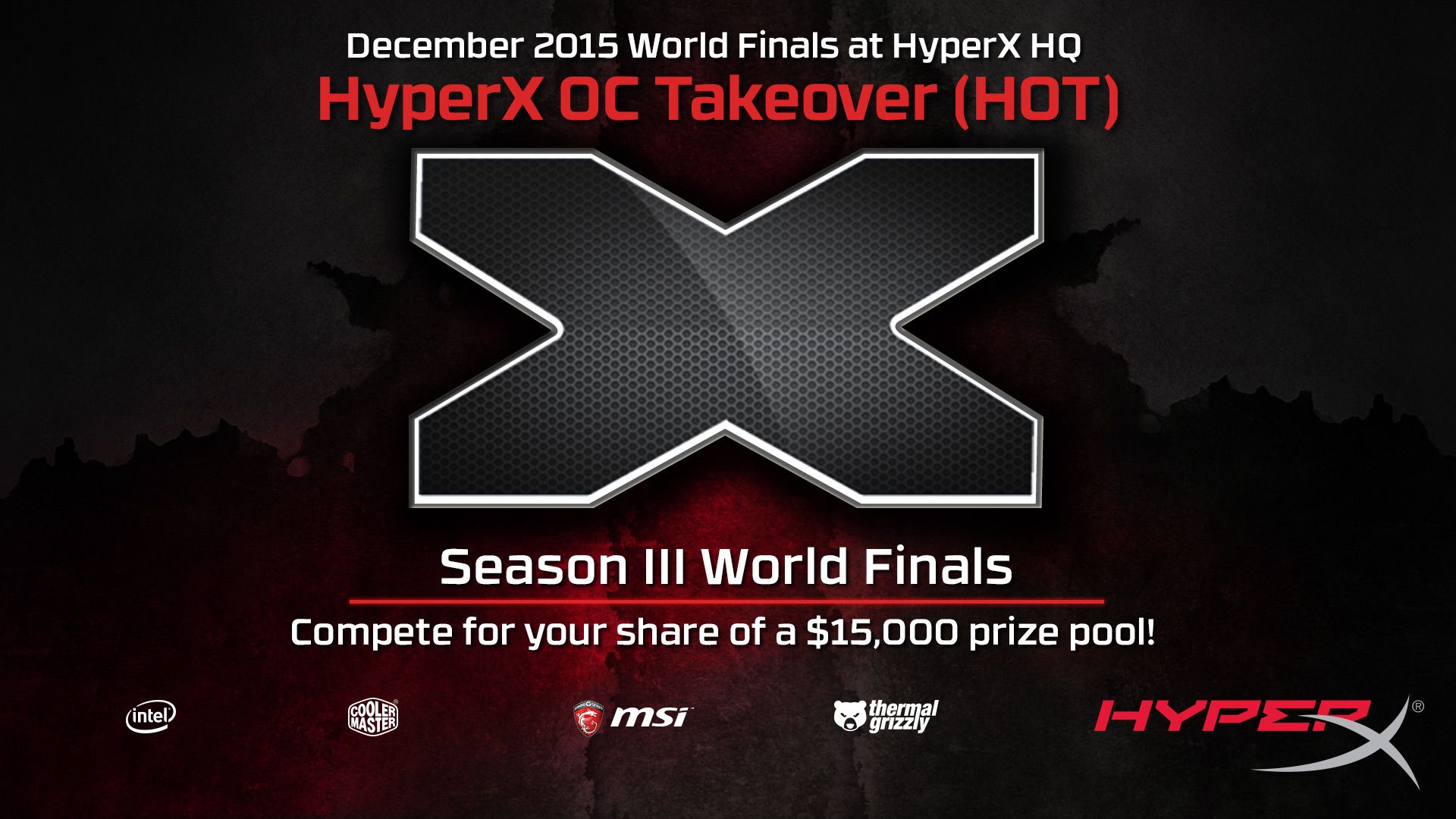 HyperX OC Takeover Banner